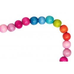 """34090 Kette """"Colorball"""""""